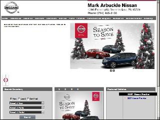 Mark Arbuckle Nissan, 1080 Philadelphia St, Indiana, Indiana ...